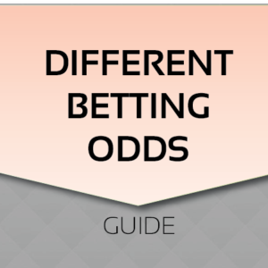 Different betting odds